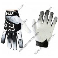 Ръкавици FOX крос бяло-черни L к. 16-104