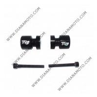 Ролки за задна стойка Yamaha R6 99-08 черни к. 8972
