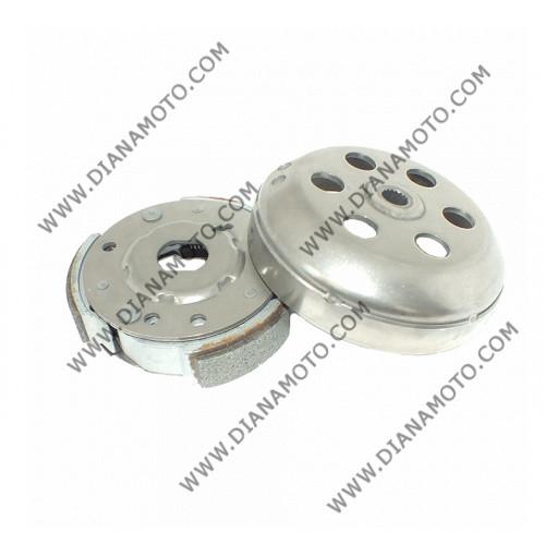 Съединител центробежен + камбана ф134 мм FCK 358 Aprilia Leonardo Scarabeo 125 150 200 к. 12-58