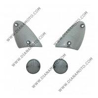 Стъкла за мигачи комплект Aprilia SR 50 Stelth карбон к. 5029