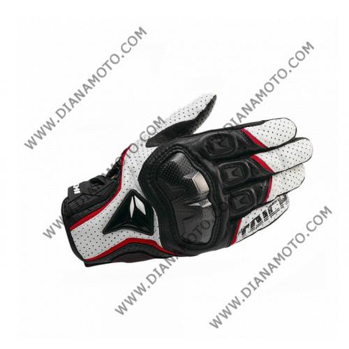 Ръкавици RS Taichi бяло-черно-червено M к. 16-62