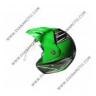 Каска VR1 TA-360 SP зелена-черна M к. 3806