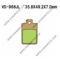 Накладки VD 968 EBC FA260 FERODO FDB968 FDB2057 LUCAS MCB695 Ognibene 43015601 СИНТЕРОВАНИ к. 41-97