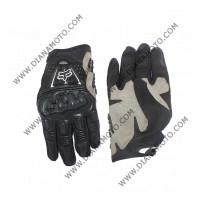 Ръкавици FOX с протектори черни XL к. 16-88