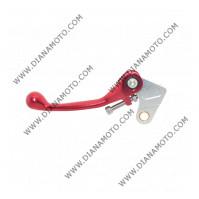 Ръкохватка съединител спортна къса чупеща червена Honda CR 125 CRF250-450 к. 9480