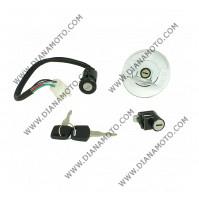 Ключалка за запалване к-т ATV Bashan 200-250 4 кабела к. 3-1019