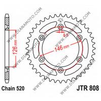 Зъбчатка задна JTR 808 - 44 к. 7225