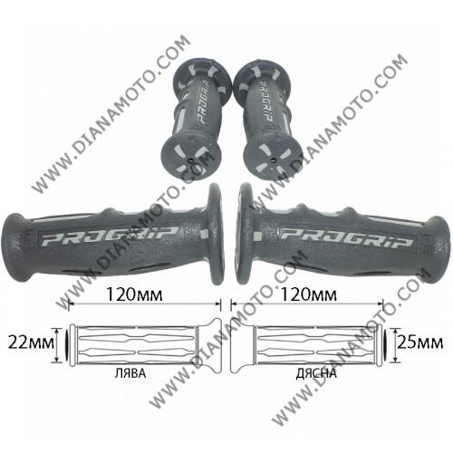Дръжки ProGrip 601 Scooter сиво-черни к. 6498