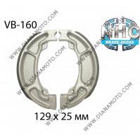 Накладки VB 160 ф 129х25мм EBC 352 SBS 2208 к. 14-473