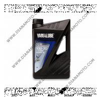 Масло Yamalube FC-W 4T 10W30 Супер синтетика 4 литра к. 27-151