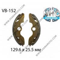 Накладки VB 152 ф 129.6х25.5мм EBC 345 FERODO FSB945 NHC MBS1130 к. 14-343