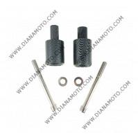 Тапи предпазни за рама Honda CBR600 RR 03-06 карбон к. 9020