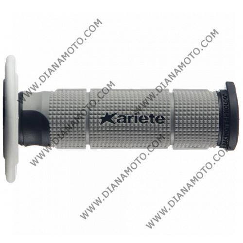 Дръжки Ariete 02614-Grnb Pair Trinity сиво-черно-бяло 125 мм к. 6991