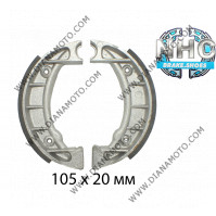 Накладки NHC MBS6601 ф 105х20мм k. 14-101