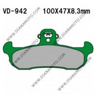 Накладки VD 942  EBC FA134 FERODO FDB499 NHC O7025 AK150 Органични к. 14-91