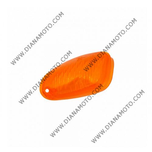 Стъкло за мигач SYM JET 50 - 100 преден ляв оранжев к. 1833