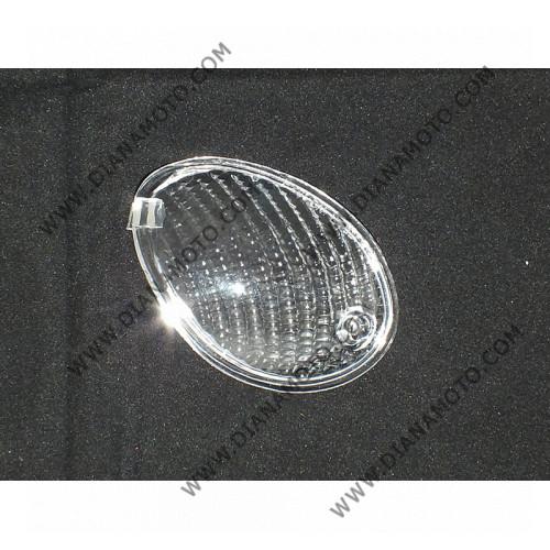 Стъкло за мигач MBK Ovetto Yamaha Neos 50 преден десен бял к. 5381