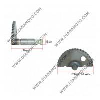 Храповик ритла GY6 50 дължина ос 70 мм ф 89 мм  к. 3-912