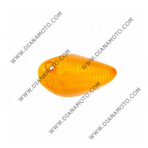 Стъкло за мигач Piaggio NRG 50 преден ляв оранжев к. 5440