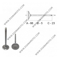Клапан изпускателен GY6 125-150 23x66x5 к. 3-145