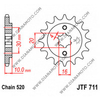 Зъбчатка предна JTF 711 - 13 к. 7115