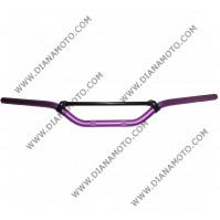 Кормило крос ендуро алуминиево лилаво к. 10034