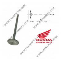 Клапан изпускателен Honda PCX 125 2010-2013 SH 125 2013 22x80x5 мм Honda OEM 14721-KWN-900 к. 11180