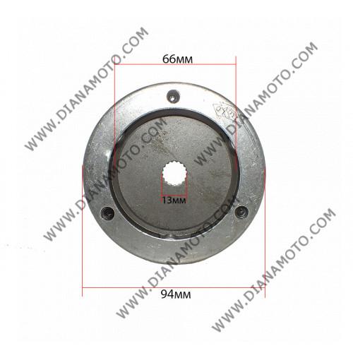 Съединител стартиране Longjia LJ50QT-K 2T ф 13 мм к. 3-466
