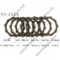 Съединител NHC 125.2x95x3 -7 броя CD2335 R Friction Paper к. 14-204