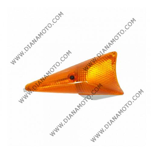 Стъкло за мигач Peugeot Speedfight 50 1/2 заден ляв оранжев цял к. 5456