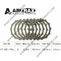 Съединител Artrax 152x119x3.8 - 7 бр. 12 зъба  к. 8793