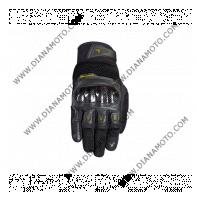 Ръкавици Air Tech черно-жълти Nordcode M к. 11624