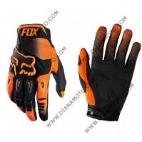 Ръкавици FOX крос оранжево-черни M к. 16-100