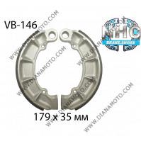 Накладки VB 146 ф 179х35мм EBC 343 FERODO FSB761 NHC MBS1118 к. 14-341