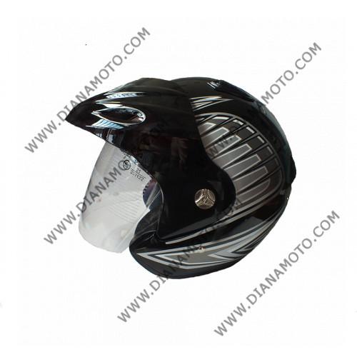 Каска VR1 366 черна М к. 5661