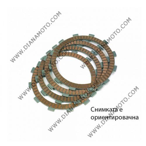 Съединител NHC 134x98x3 -8 бр 134x104x3 -1 бр 16 зъба CD2347 R Friction Paper к. 14-205