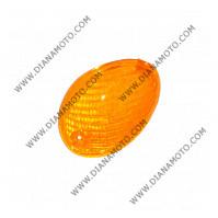 Стъкло за мигач MBK Ovetto Yamaha Neos 50 преден ляв оранжев к. 5379