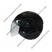 Каска VR1 J1-V #2 черно-бяла L к. 3451