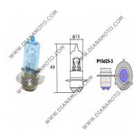 Крушка за фар 12V/35/35W 3 крачета Халоген син P15D-25-3 к.  567