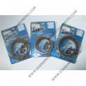 Съединител NHC 138x105x3 - 7 бр 12 зъба CD2319 R Friction paper к. 14-361