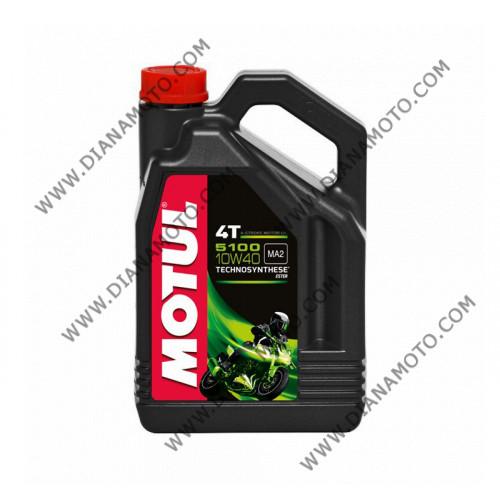 Масло Motul 5100 4T 10W40 Полусинтетика 4 литра к. 3954