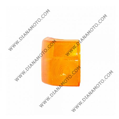 Стъкло за мигач Yamaha JOG 50 2JA заден ляв оранжев к. 1156