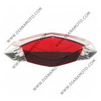 Стъкло за стоп Peugeot Speedfight 3 50 червен к. 9457