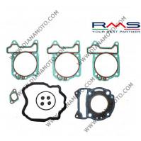 Гарнитури цилиндър к-т с гумички за клапан Piaggio Super Hexagon GTX 00-02 X9 Amalfi 180 00-03 DNA 180 01- Runner VX 00-01 LC тип А RMS 100689390 4T к. 6530
