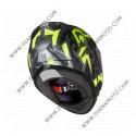 Каска MT Revenge Leopard черно-жълта флуресцентна L к. 4392