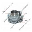 Цилиндър к-т с гарнитури KYMCO GY6 150 Adly Baotian Dafier Leike Linhai Longbo PGO Sampo 150 ф 57.50 мм болт 15 мм STD AC равен на код RMS 100080401 к. 3-138