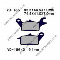 Накладки VD 186 FA655 FA625 Honda Wave k. 1864
