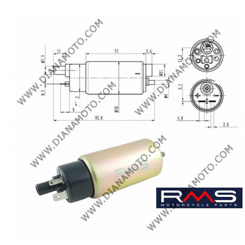 Бензинова помпа Yamaha T-MAX 500 MBK Skycruiser Suzuki Burgman 200 RMS 121660040 к. 10267