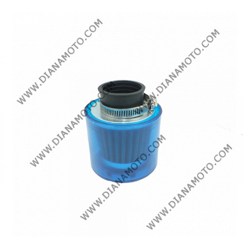 Въздушен филтър ф 35 мм син капак к. 989