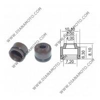 Гумички за клапан Peugeot Yamaha Suzuki 4x7.2x6.3-8.10 равни на код RMS 100669250 к. 9587